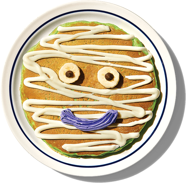 IHOP mr mummy pancake october deals