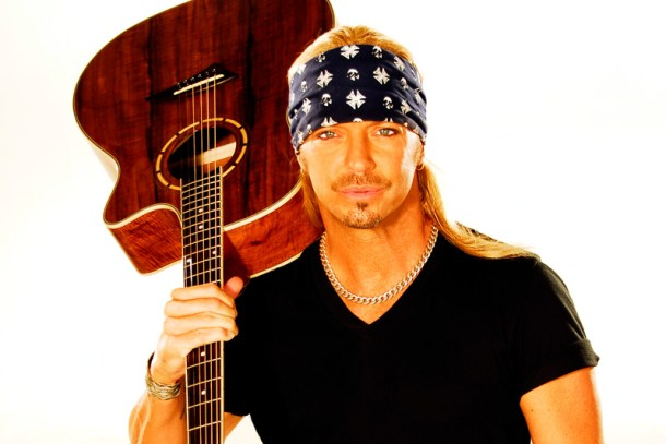 Bret Michaels performs FREE downtown at Fremont Street