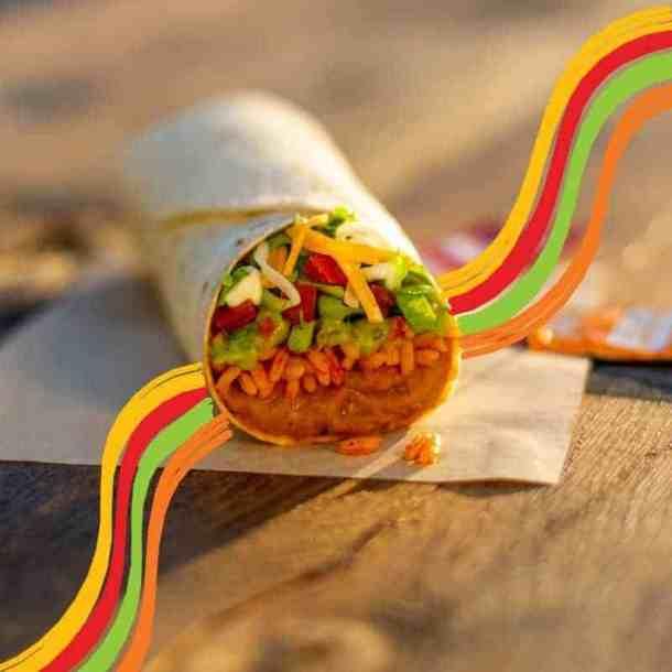 Taco Bell Rewards program- burrito