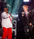 Cee Lo Green and Rod Stewart at Planet Hollywood Resort & Casino
