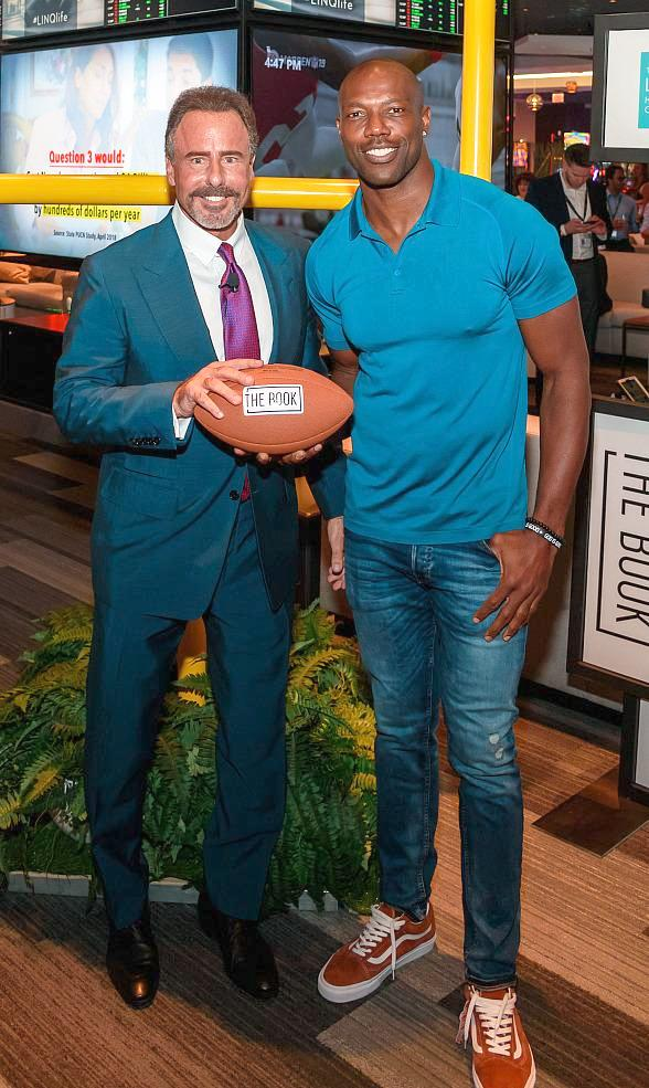 The Book at The LINQ Hotel & Casino in Las Vegas Celebrates Official Grand Opening with NFL Hall of Famer Terrell Owens