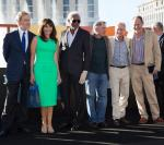 Kevin Kline, Mary Steenburgen, Morgan Freeman, Robert De Niro and Michael Douglas and Director Jon Turteltaub