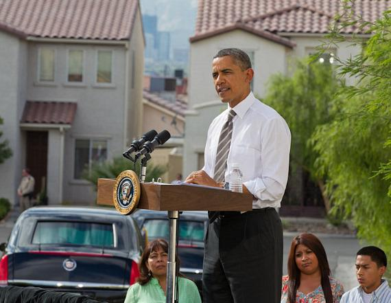 President Barack Obama Speaks on Economy and Housing in Las Vegas