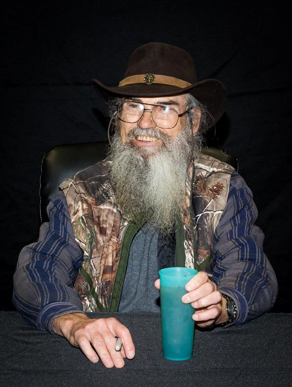 Reality TV Star Si Robertson Signs New Book at Sam's Club in Las Vegas