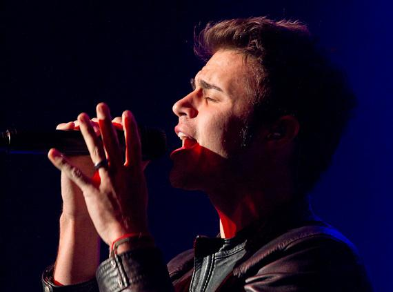"""""""American Idol"""" Kris Allen performs at The Joint at Hard Rock Hotel in Las Vegas"""