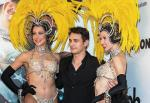 James Franco with Showgirls