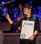 Carlos Santana with Proclamation and Key