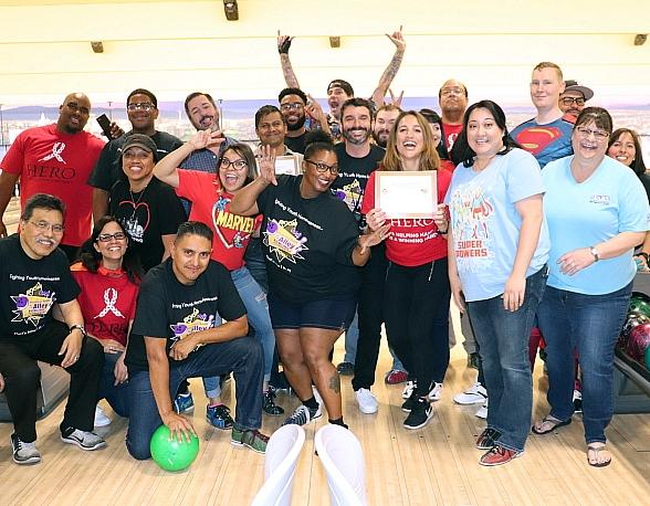 Superheroes and Vigilantes Unite to Combat Youth Homelessness in Southern Nevada at 10th Annual Homeless Youth in the Alley Bowling Tournaments