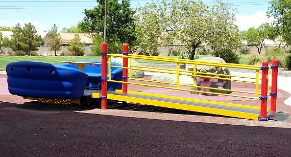 Donation Opens Two Henderson Parks to Residents of All Abilities