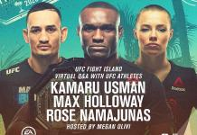 UFC 251: USMAN vs. MASVIDAL - Virtual Fan Q&A July 8, 2020