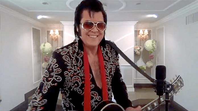 Graceland Wedding Chapel in Las Vegas Launches  World's First Virtual Elvis Themed Wedding Vow Renewals