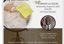 "IREM 99 Las Vegas, Hosts Virtual Luncheon, ""America In Crisis: Your Role In Strengthening Your Organization And Community"" with Christopher Hoye, August 12"
