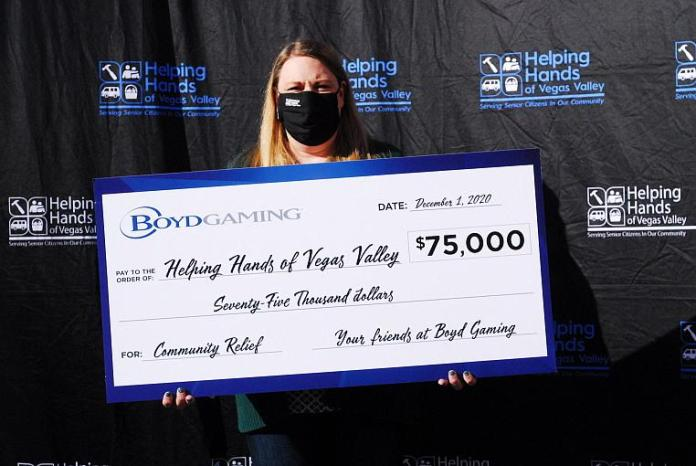 Boyd Gaming Contributes $150,000 to Nonprofit Organizations Providing Much-Needed Services to Local Veterans and Seniors