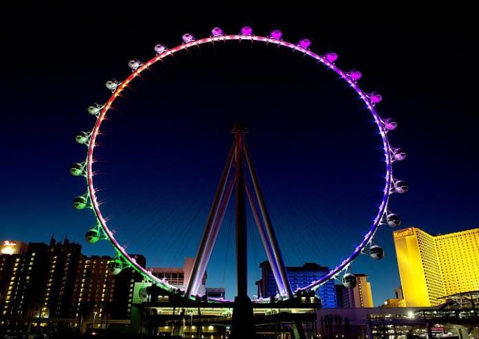 Free Rides for Dad on High Roller for Father's Day