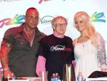 Steve with 2nd place winner Rich LeFevre with Holly Madison