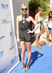 Ashlee Simpson hosts at Wet Republic Pool in Las Vegas