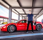 Gordon Ramsay at Exotics Racing in Las Vegas