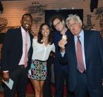 Bill Bellamy, Bob Saget and Jay Leno during the Scleroderma research fund raiser to help find a cure for Scleroderma at House of Blues Las Vegas