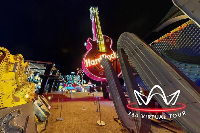 The Neon Museum Offers New 360 Virtual Tour From 130 Vantage Points