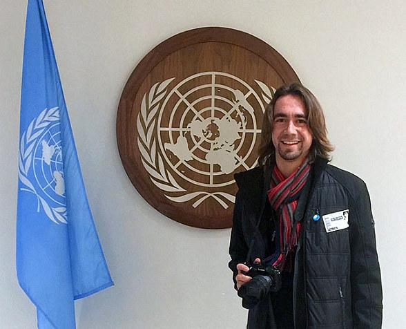 UNLV Film Student Hunter Hopewell Wins First Place at Peace in the Streets Global Film Festival