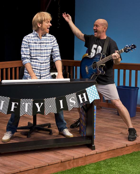 Happy 50ish! the Mid-life Crisis Musical Comedy Parties it up at the D Las Vegas Special Limited Engagement Performances December 19-23, 2015