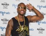B.o.B on red carpet at REHAB Pool Party at Hard Rock Hotel & Casino in Las Vegas