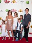 Marcia Gay Harden and family