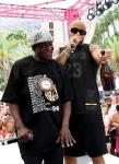 Flavor Flav and Fro Rida at Flamingo Las Vegas' GO Pool Dayclub