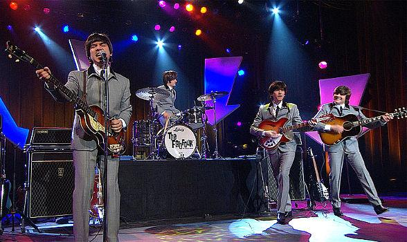 """""""The Fab Four - The Ultimate Tribute with Ed Sullivan"""