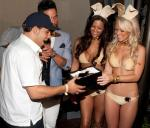 Victor Rasuk receives VIP Playboy Club Key