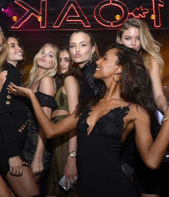 Victoria Secret Model Josephine Skriver Celebrates Birthday along with Angels and more at 1OAK Nightclub