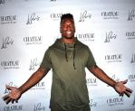 Brandon Marshall on the Red Carpet at Chateau