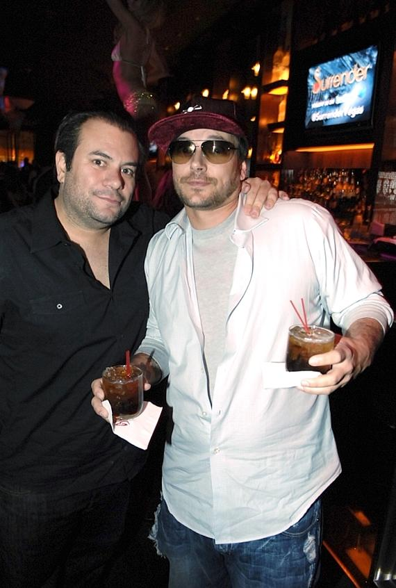 Brandon Roque and Kevin Federline at Blush