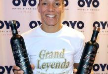 UFC Fighter Germaine de Randamie Hosts Meet and Greet at OYO Hotel & Casino Las Vegas