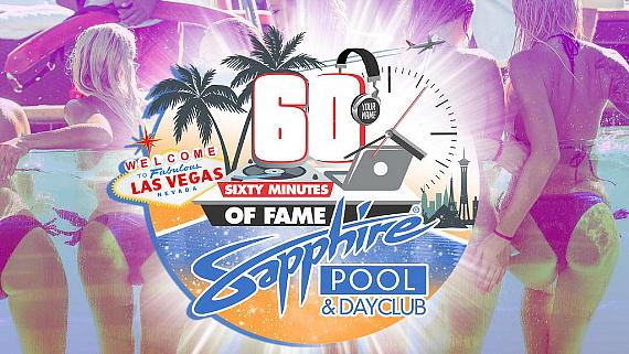 "Sapphire Pool & Day Club, Voted ""Best Day Club in Las Vegas"" Two Years in a Row, Opens for Fun in the Sun on May 1"