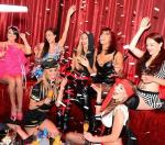 Champagne toast with FANTASY cast at LAX Nightclub