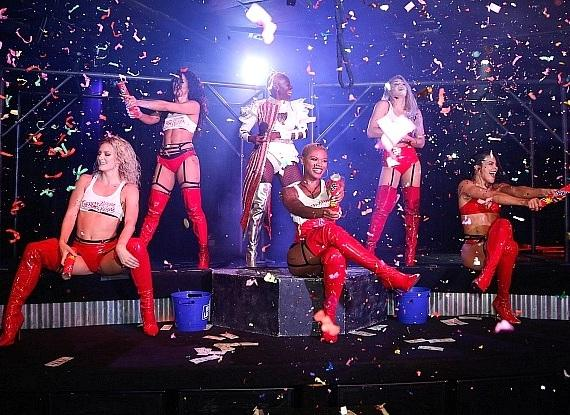 Cherry Boom Boom Celebrates New Las Vegas Residency With Grand Opening Show