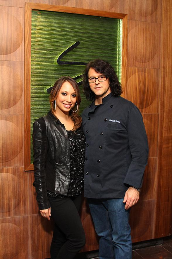 """""""Dancing With The Stars"""" Cheryl Burke Dines at Simon at Palms Place"""