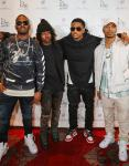 Chrisanity, MIKExANGEL, Trey Songz, J.R. Arrive to Drai's Nightclub for First-Ever Performance of 'To Whom It May Concern'