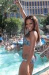 Christina's champagne shower at Luxury Pool at The Palazzo