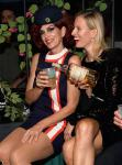 Cindy Crawford and Karolina Kurkov attend Casamigos Halloween party at CATCH Las Vegas at ARIA Resort & Casino