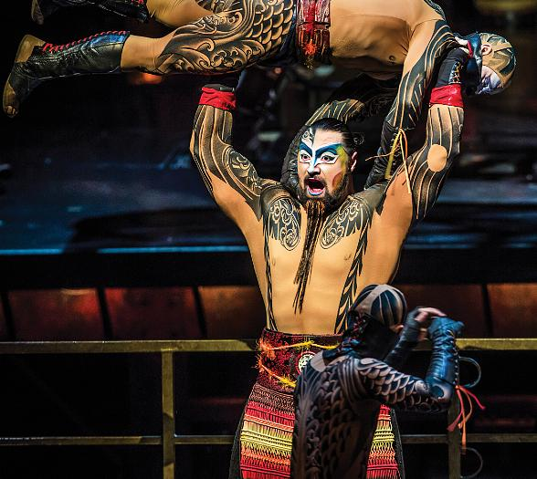 """Cirque du Soleil Returns to their Roots at """"Life is Beautiful Music & Art Festival"""""""