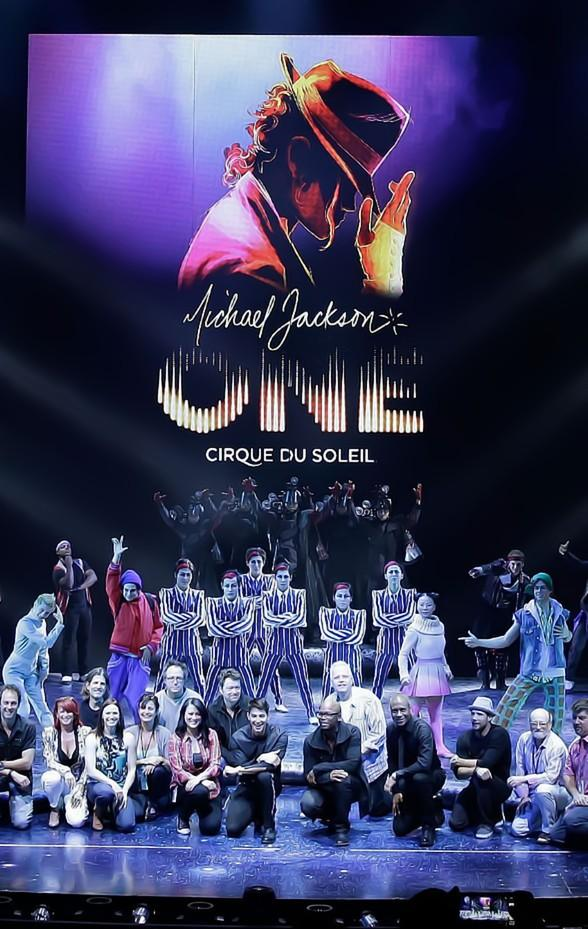 """""""Michael Jackson ONE by Cirque du Soleil"""" Performs at Las Vegas Aces Game on Sunday, Aug. 11"""