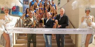 Wet Republic Ultra Pool at MGM Grand Welcomes Guests to Its Multi-Million Dollar Revamp With Official Ribbon Cutting and Proclamation Ceremony