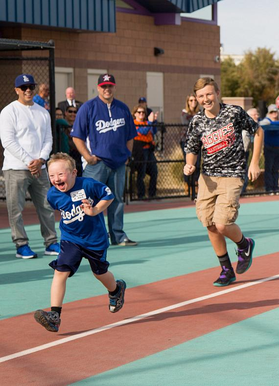 Sands Cares Donates $32,000 to All-Star Pitcher Clayton Kershaw's Foundation, Kershaw's Challenge