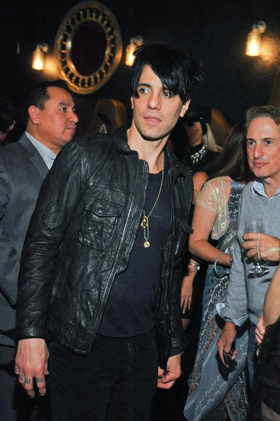 Criss, joined by his beautiful fiancé Sandra, celebrate CRISS ANGEL Believe's 5th anniversary