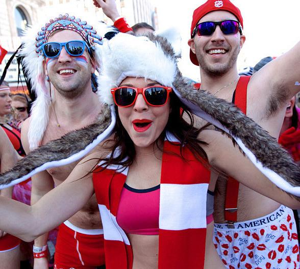 """Park On Fremont to Celebrate Valentine's Day with Discount for """"Cupid's Undie Run"""" Participants"""