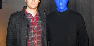 DJ Andre Allen Anjos of RAC, Remix Artist Collective, at Blue Man Group