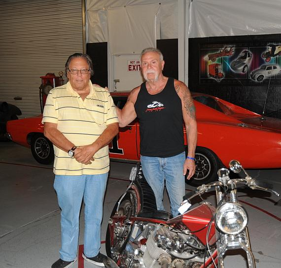 """Paul Senior"" of Orange County Choppers visits Hot Rod City Las Vegas"