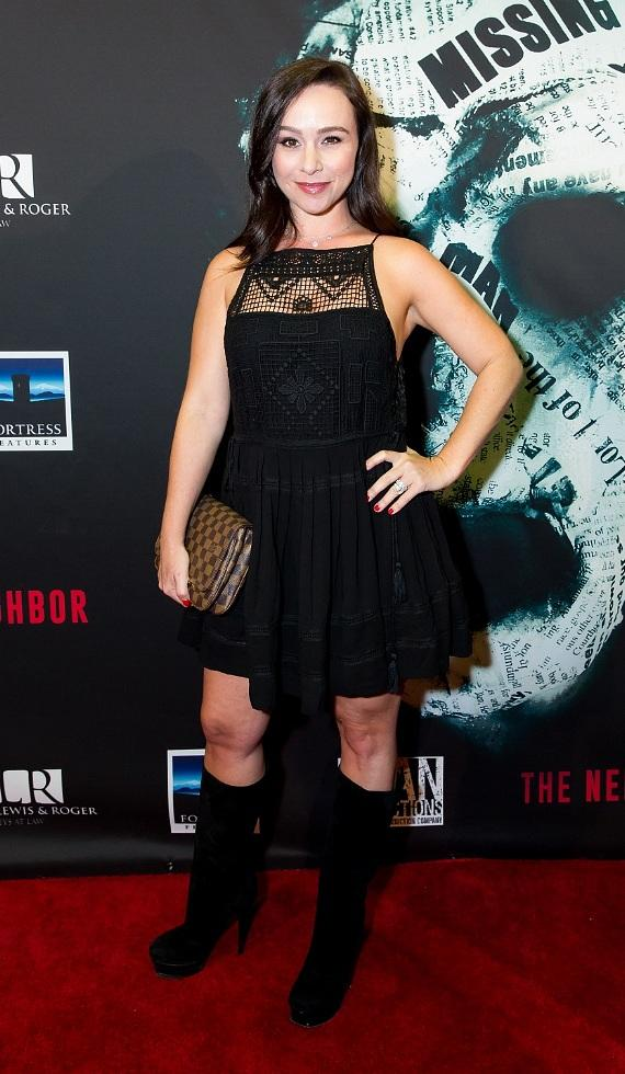 """Bill Engvall, Alex Essoe, Melissa Bolona, Counting Cars cast, Danielle Harris, Coolie and more at """"The Neighbor"""" Red Carpet Movie Premiere"""
